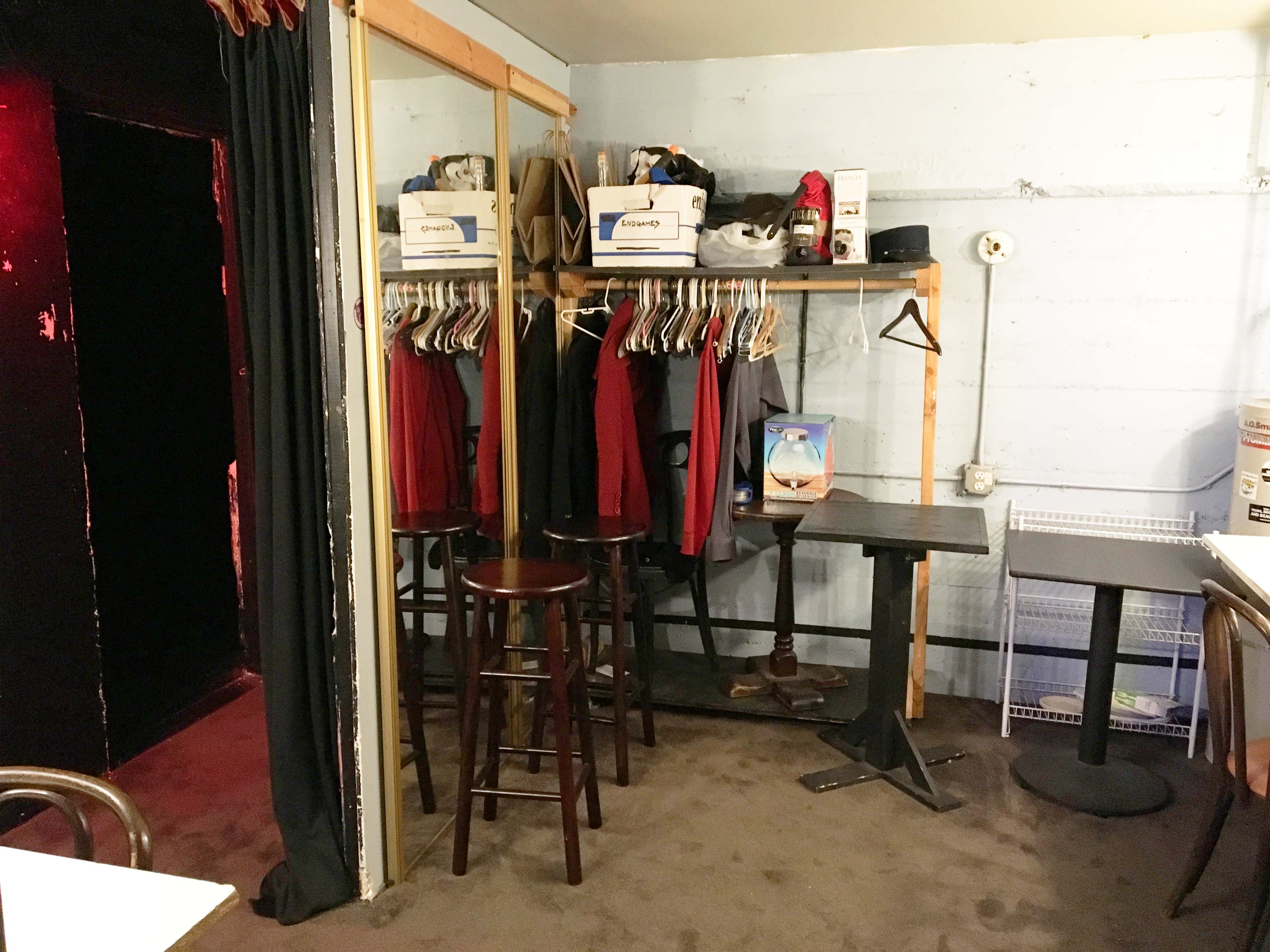 Dressing Room to Stage