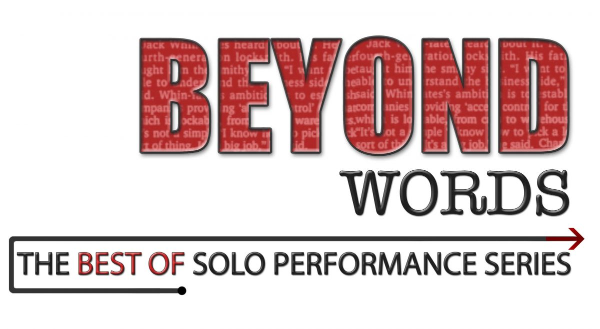 Beyond Words Solo Performance poster